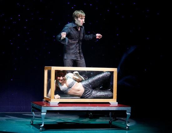 Magician Darren Romeo.