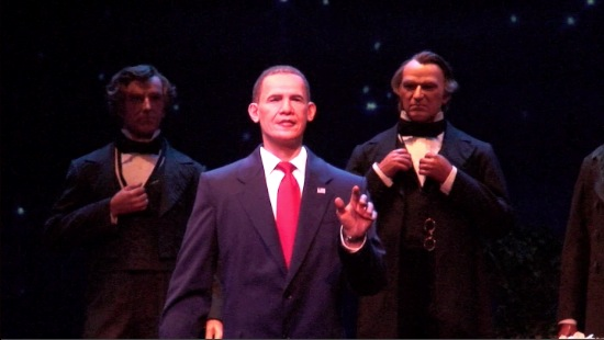 Hall of Presidents Barack Obama