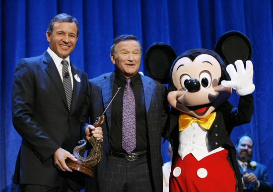 Robin Williams Disney Legends