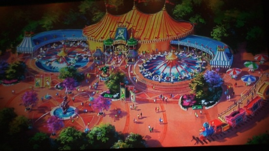 Fantasyland addition to Walt Disney World