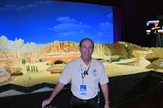 D23 Parks and Resorts exhibit