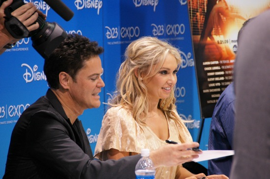 Donnie Osmond and Kym Johnson