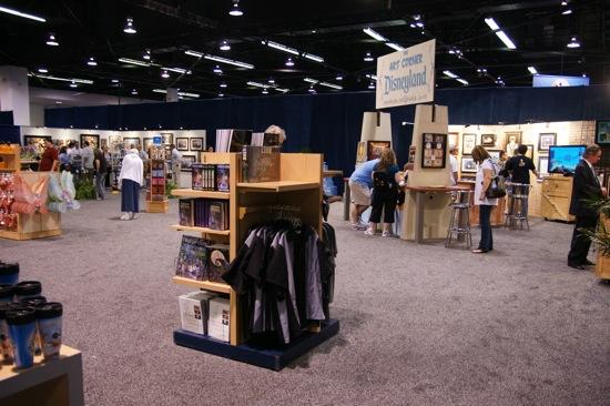 D23 Expo exhibit floor