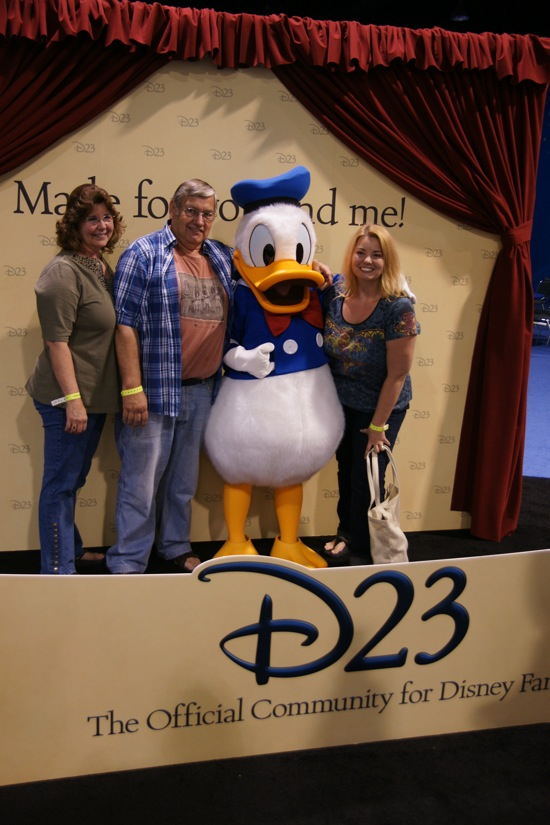 D23 Expo exhibit floor