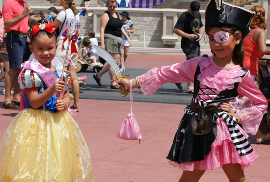 Pirates League and Bibbidi Bobbidi Boutique