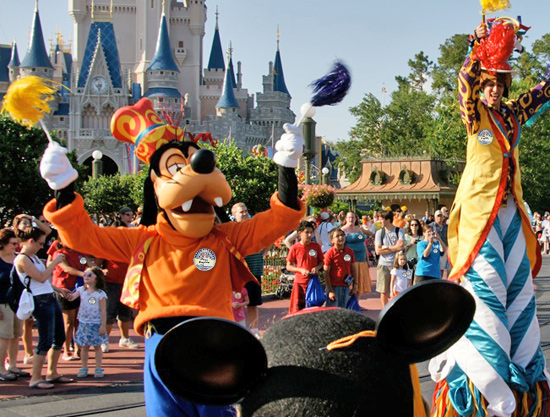 Walt Disney World 38th birthday