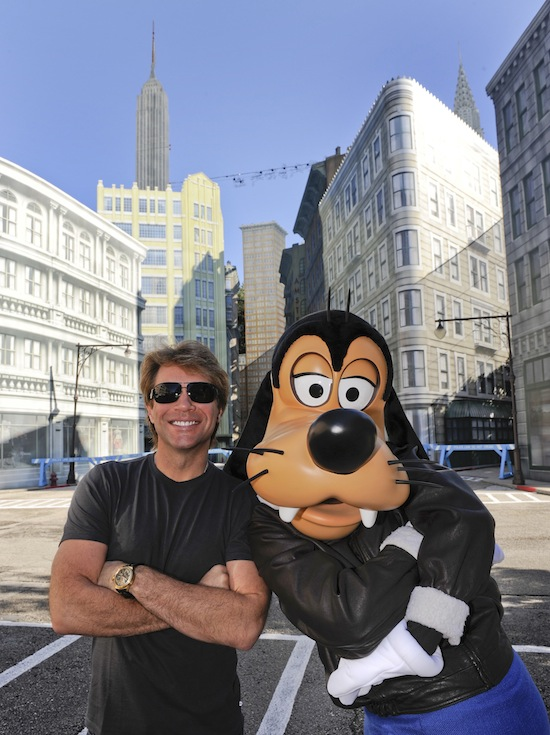 SINGER JON BON JOVI AT DISNEY WORLD IN FLORIDA
