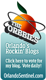 Click here to vote for my blog on the Orbbies - Orlando's Rockin' Blogs