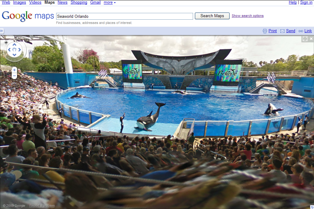 Google Street View now available for SeaWorld - Attractions ...