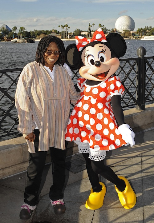 WHOOPI GOLDBERG AT DISNEY WORLD IN FLORIDA