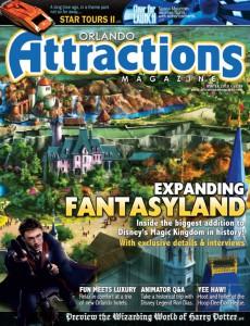 Winter 2010 issue of Orlando Attractions Magazine