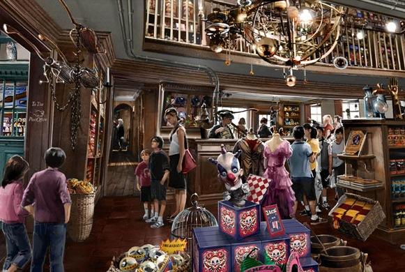 Wizarding World of Harry Potter concept art