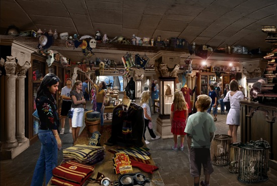 Filchs Emporium of Confiscated Goods Wizarding World of Harry Potter