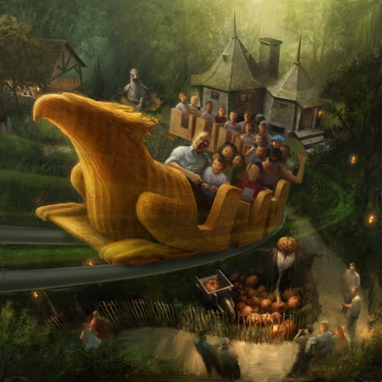 Flight of the Hippogriff Wizarding World of Harry Potter