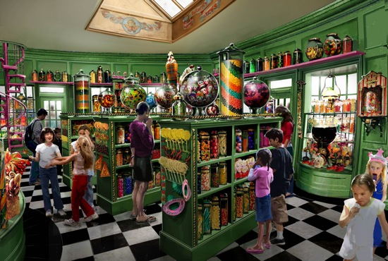 Honeydukes Wizarding World of Harry Potter