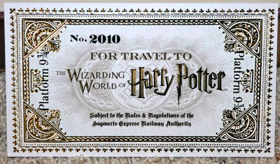 Our Invitation To The Wizarding World Of Harry Potter Attractions