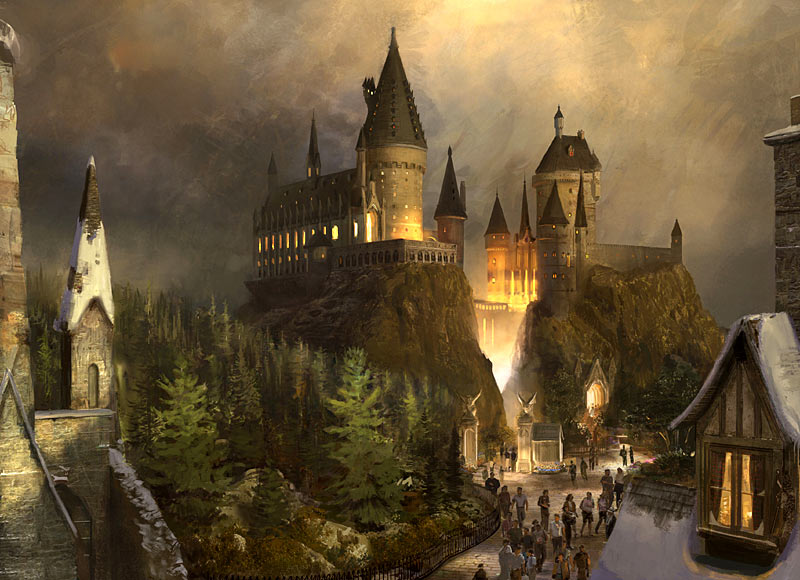 Wizarding World of Harry Potter concept art