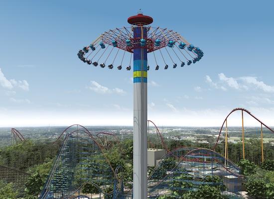 Kings Island New Swing Ride