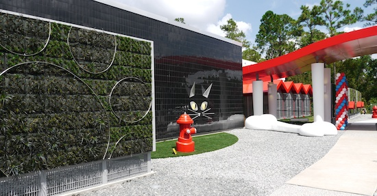New luxury pet care center replaces kennels at disney for Dog kennels near disney world