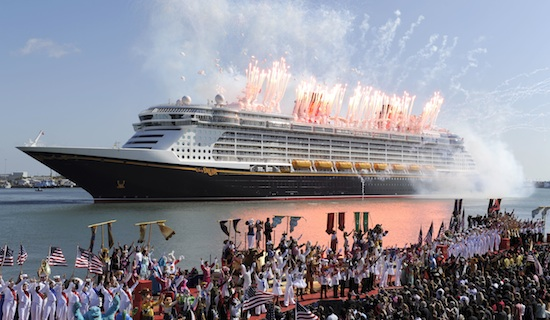 Disney Dream Cruise Ship Launches With Fanfare And Flair