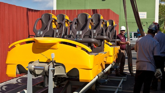 Cheetah Hunt's coaster cars have arrived at Busch Gardens ...