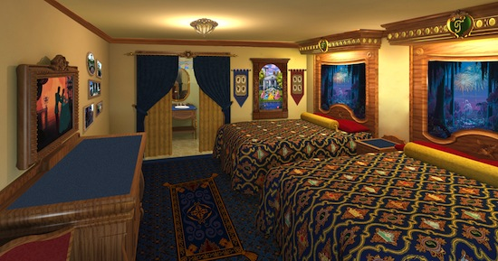 Disney Announces Royal Rooms At Port Orleans And Health