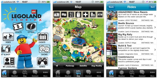 Legoland Florida introduces free interactive mobile app