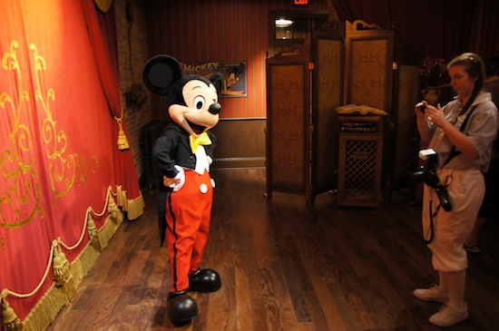 A few lucky guests at the magic kingdom may get to meet mickey mouse a m4hsunfo
