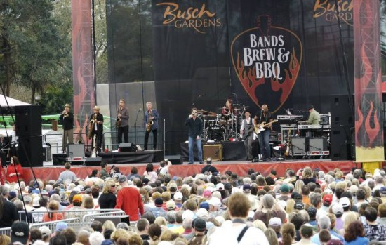 Top Names To Perform During Bands Brew And Bbq At Busch Gardens And Seaworld In 2012