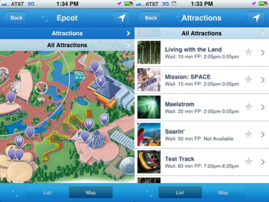 Disney mobile magic app now available on the iphone Magic app