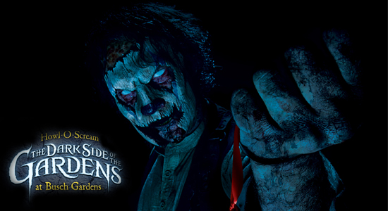 Full reveal of howl o scream 2012 with 7 haunted houses scare zones hordes and more at busch for Bush garden howl o scream 2017
