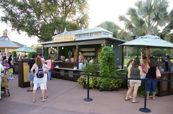 Booth at Epcot Food Festival