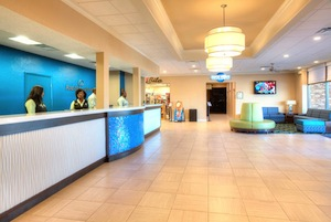 Quality Inn International remodeled lobby