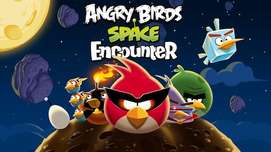 Angry Birds Space Encounter