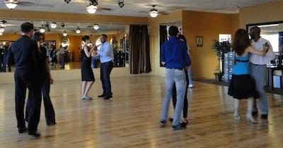 Couples dance at Arthur Murray Dance Studio in Orlando.