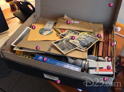tomorrowland briefcase numbered by Disney d23