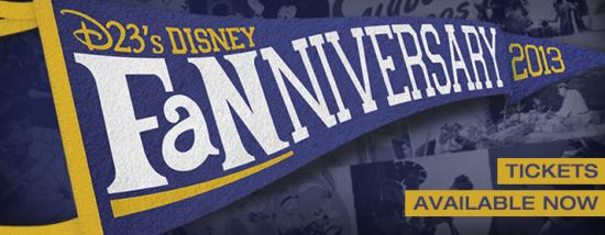 D23 Fanniversary 2013 Logo
