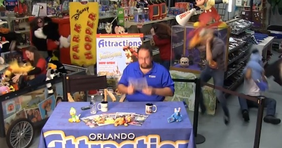 Attractions magazine show hosts doing the harlem shake