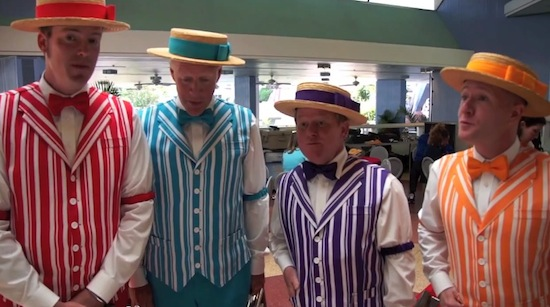 Disney's Dapper Dans at Magic Kingdom