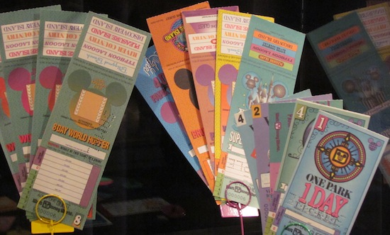 Old Disney world tickets