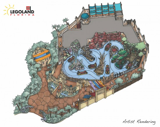 World of Chima, concept art, Legoland Florida