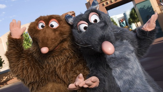 Ratatouille characters at Hollywood Studios