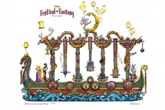 Disney Festival of Fantasy Parade Coming to Magic Kingdom in 2014