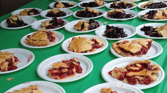 Delicious pies at Celebration's Pie Festival