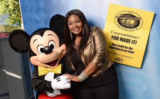 New 'American Idol' Candice Glover at Walt Disney World Resort
