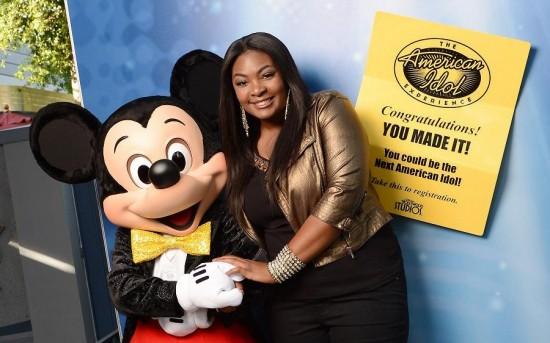 New 'American Idol' Candice Glover at Walt Disney World Resort