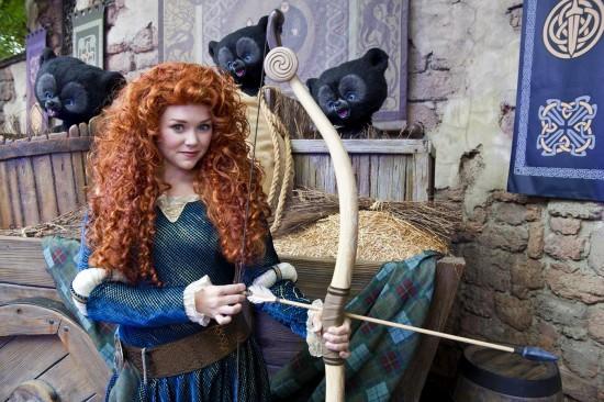 Merida now appearing at Magic Kingdom park