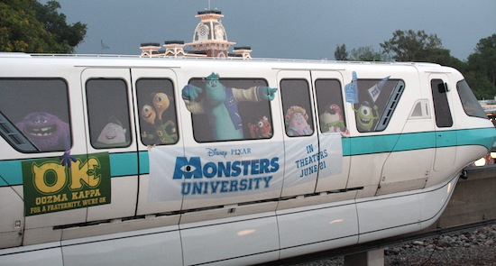 Monsters University monorail