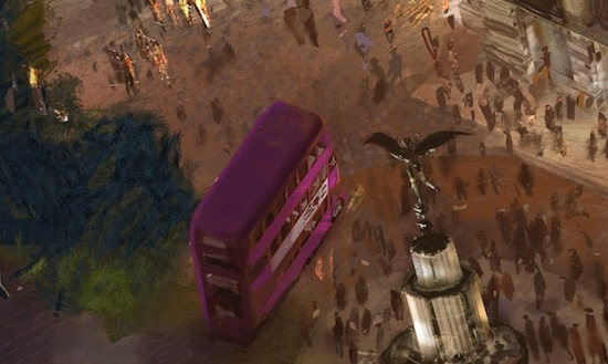 Wizarding World of Harry Potter expansion concept Knight Bus