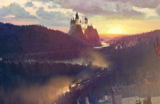 Wizarding World of Harry Potter expansion concept art